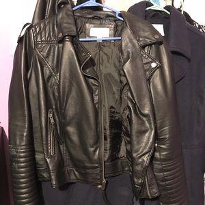 Faux Leather Moto Jacket (Xhilaration)